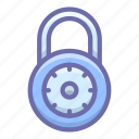 lock, padlock, protection icon