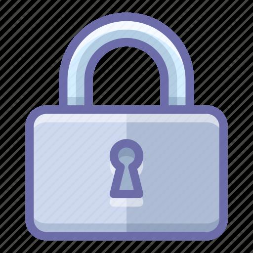 lock, padlock, protection icon