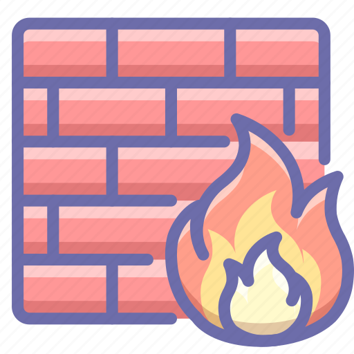 firewall, protection, security icon