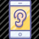 spy, smartphone, virus icon