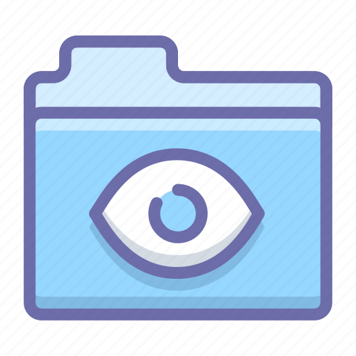 bigbrother, eye, folder icon