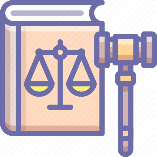 court gavel, justice, law icon