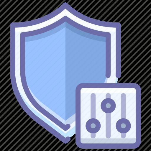 antivirus, control, security icon