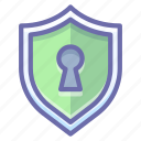 keyhole, private, protection icon