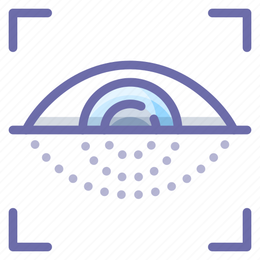 eye, scan, security icon