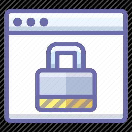 lock, security, web icon