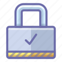 lock, protection, secure icon
