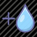 washing, water, more icon