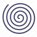 growth, spiral, universe icon