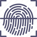 biometric, fingerprint, id, scan, security, touch