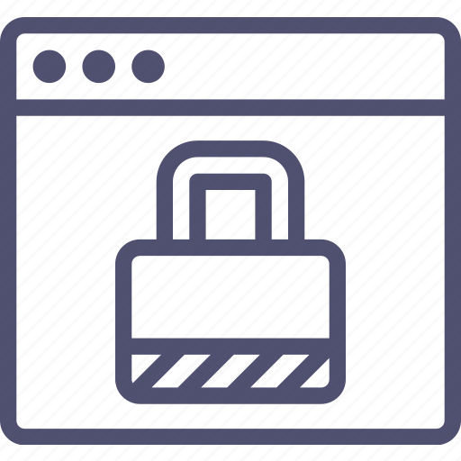 browser, encryption, lock, password, protection, secure, security, web, website icon