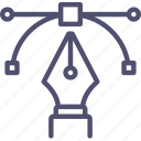 acnhor, design, illustration, pen, tool icon