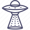 abduction, alien, cosmos, extraterrestrial, ship, space, transport, ufo icon