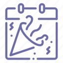 celebration, day, holiday, party icon