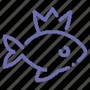 fish, gold, wish, wonder icon