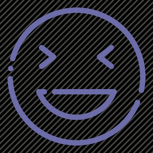 Emoji Face Grinning Xd Icon