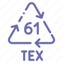jute, recyclable, tex icon