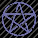 occultism, pentacle, pentagram, religion icon