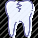 caries, medicine, teeth, tooth icon