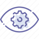 correction, eye, vision icon