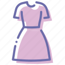 apparel, clothes, dress, gown icon