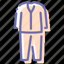 clothes, pajamas, sleep, sleepwear icon