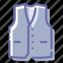 clothes, suit, vest, waistcoat