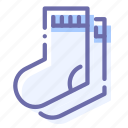 clothes, pair, sock, socks