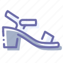 low, sandals, shoes, women