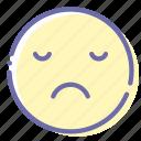 dissapointed, emoji, face, unamused