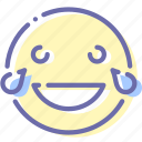 emoji, face, laugh, smile