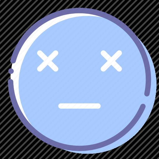 Dead, emoji, face, finish icon - Download on Iconfinder
