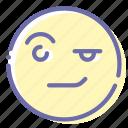 areyousure, emoji, face, wondering
