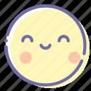 emoji, face, kawaii, smile