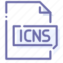 extension, file, format, icns