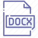 docx, extension, file, office