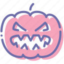 halloween, horror, jack, pumpkin icon
