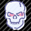 halloween, horror, skeleton, skull