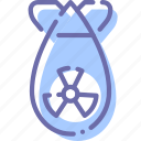 bomb, nuclear, war, weapon icon
