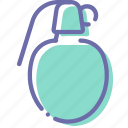 grenade, military, war, weapon icon