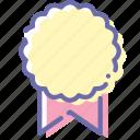 bonus, license, medal, reward icon