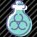 biohazard, biological, mass, weapon icon