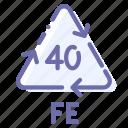 fe, ferrum, recyclable, steel