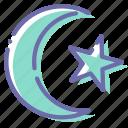 crescent, islam, muslim, religion