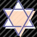 david, jewish, religion, star