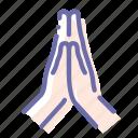 hands, plea, religion, pray
