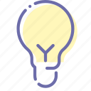 idea, lamp, light, spherical