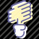 energy, lamp, saving, spiral