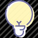 bright, lamp, light, spherical