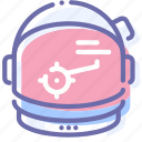 astronaut, helmet, space, suit icon